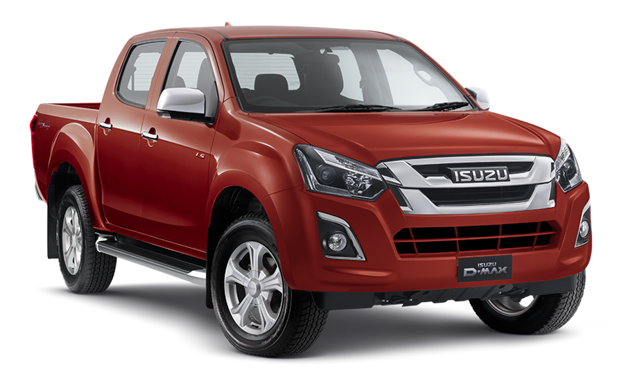 Isuzu Dmax Blue Paint