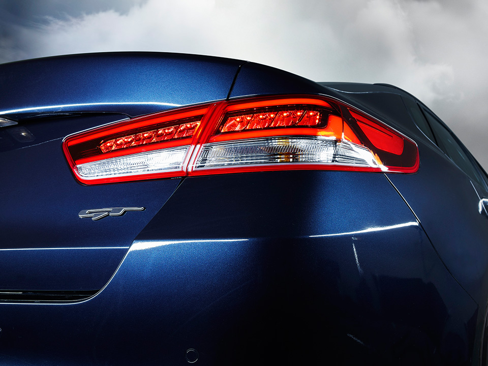 LED rear taillights