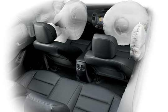 Six-Airbag-System