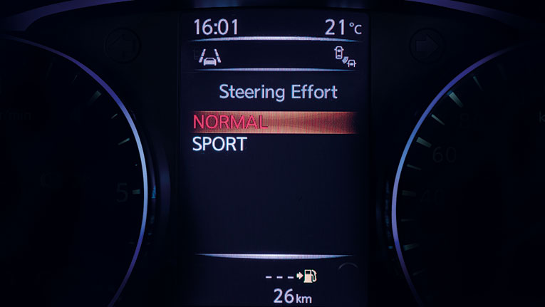 Advanced Drive Assist Display screen