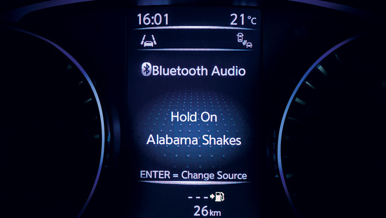 Advanced Drive Assist Display screen. Bluetooth Audio streaming.