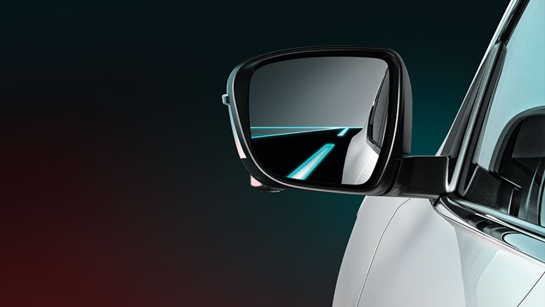 Blind Spot Warning* - provides an alert if there's a vehicle in your blind spot