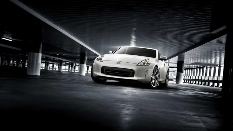 370Z Coupe Shiro White