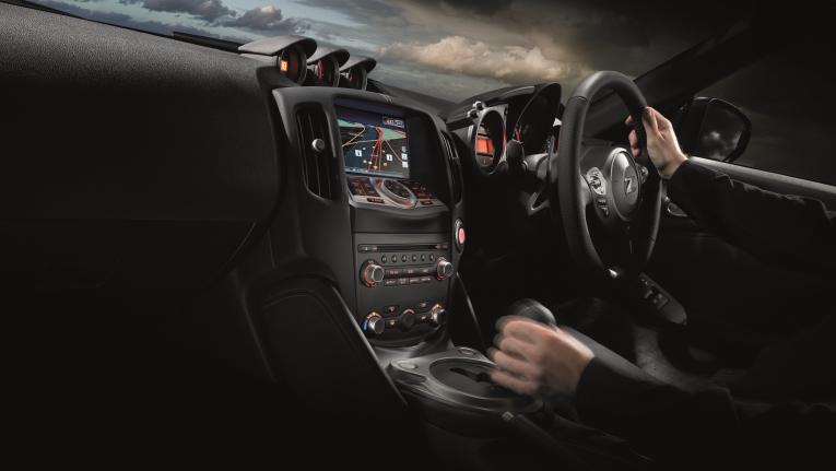 370Z Coupe Interior