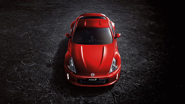 370Z Coupe Eau Rouge Red