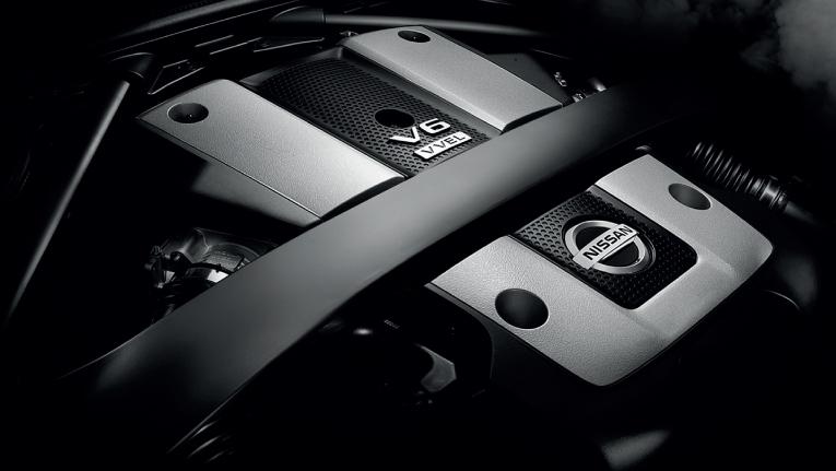 3.7 litre V6 engine