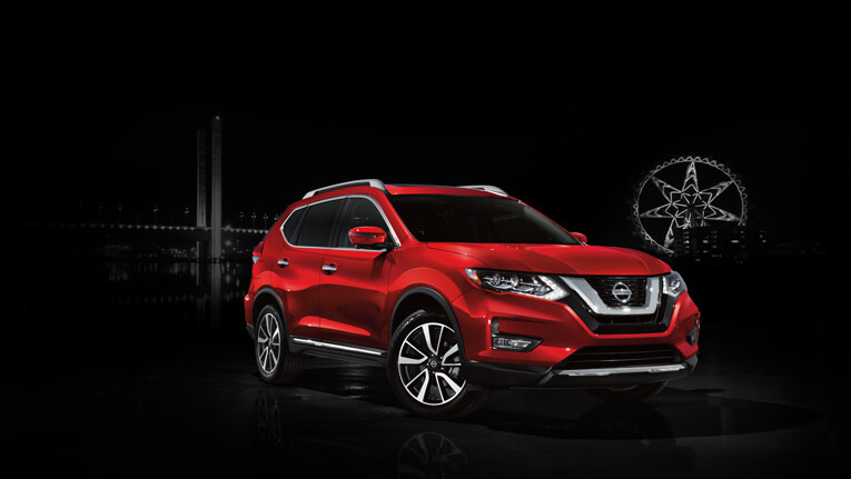 X-TRAIL shown in Ruby Red  Ti model shown.