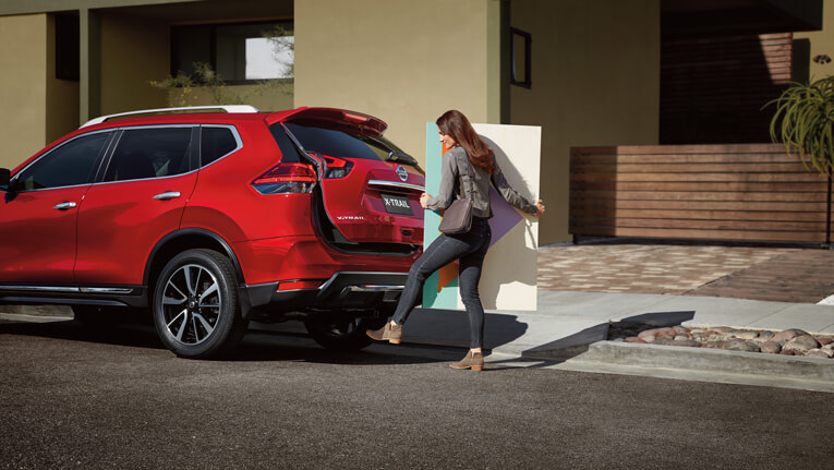 Motion-activated tailgate  Available Ti model.