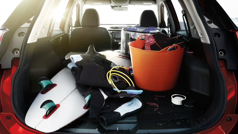 Split-folding seating lets you open up a whopping 945L^ of boot space  ST-L model shown. ^5 seat models only.