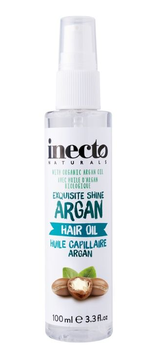 inecto naturals exquisite shine argan hair oil 100ml adore pharmacy