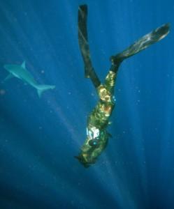 Freediver Eric de Vries