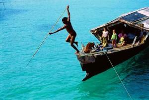 harpooning in Burma