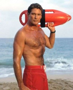 The Hoff in Baywatch