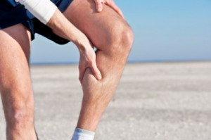 Cramps are a result of muscles tensing, but not releasing, typically during exercise. They can be extremely painful and cause your leg to 'lock up' meaning you won't be able to kick