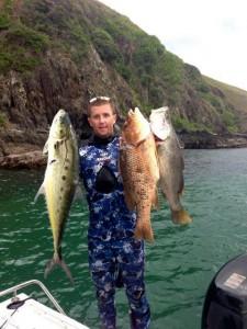 Travis Hogan has already weighed in 3 Estuary 5 species!
