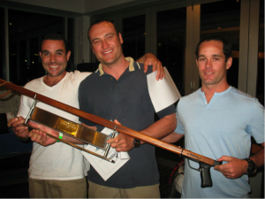 Champion pairs - current Australian spearfishing Champion, Ben Thompson, and Ryan Springall