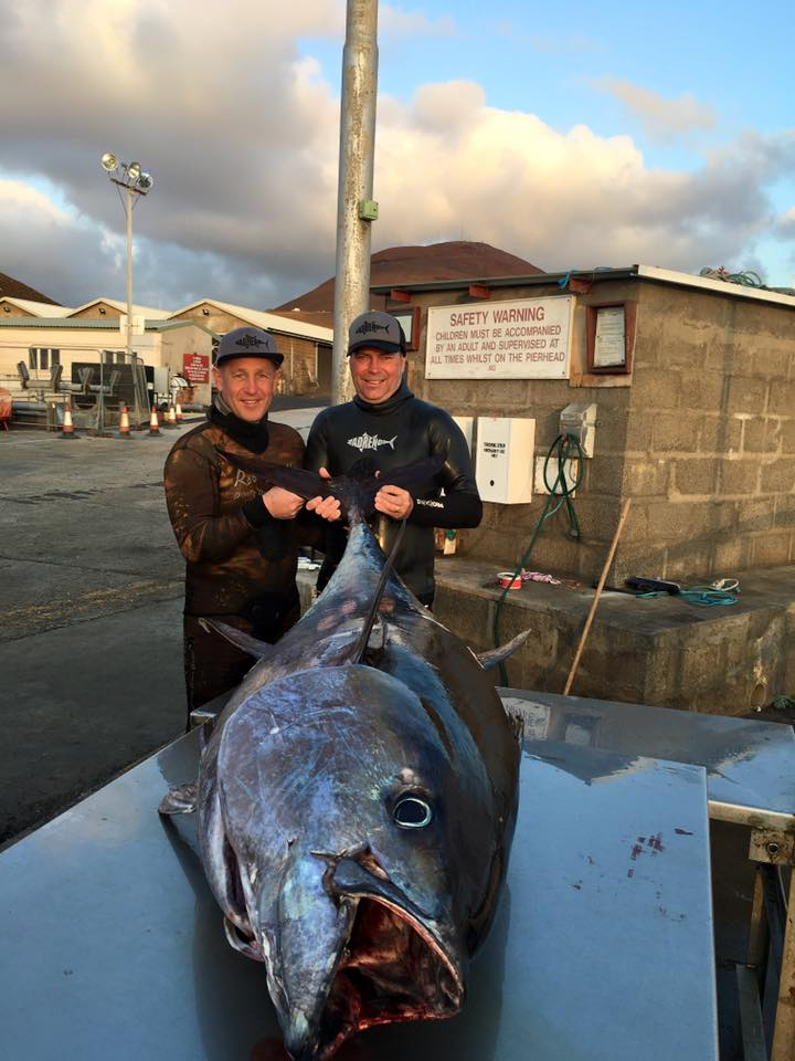 Tim and Cutters with Cutters 109kg Yellowfin