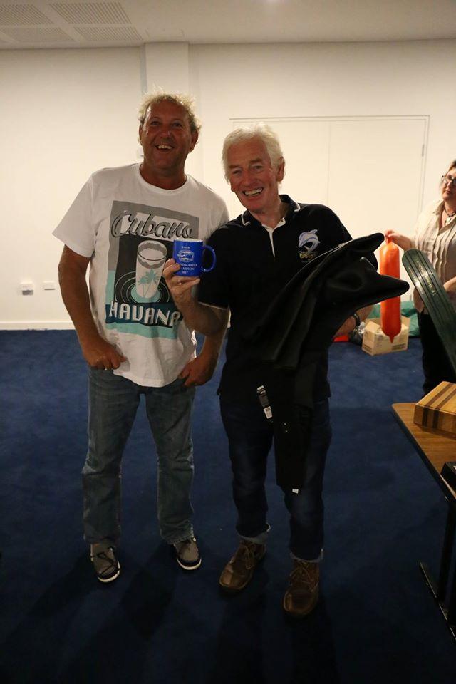 Grandmaster Champion Pat Mullins receives his Adreno reversible proskin wetsuit (1)