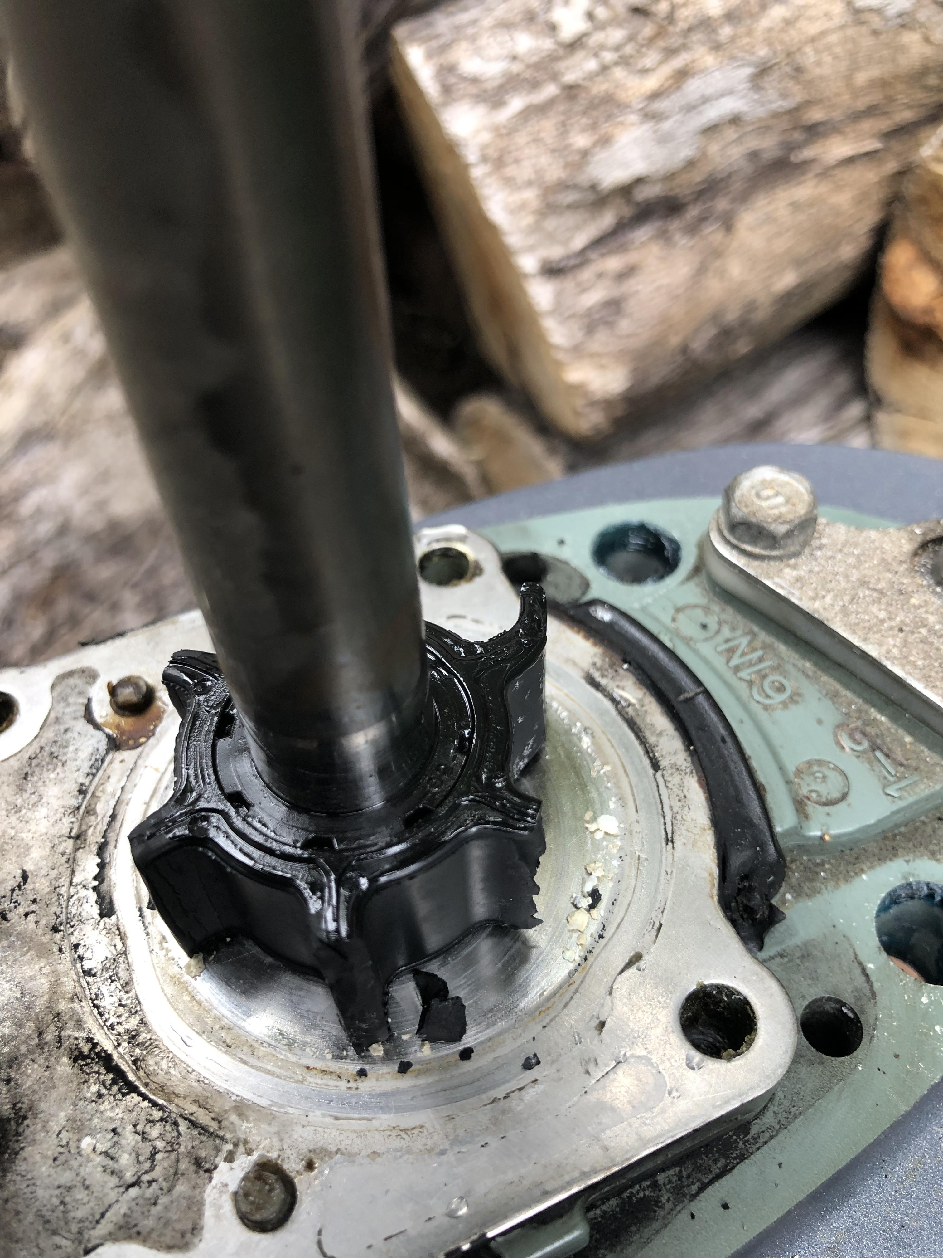 Yamaha 30hp 2 stroke impeller replacement    - Boating