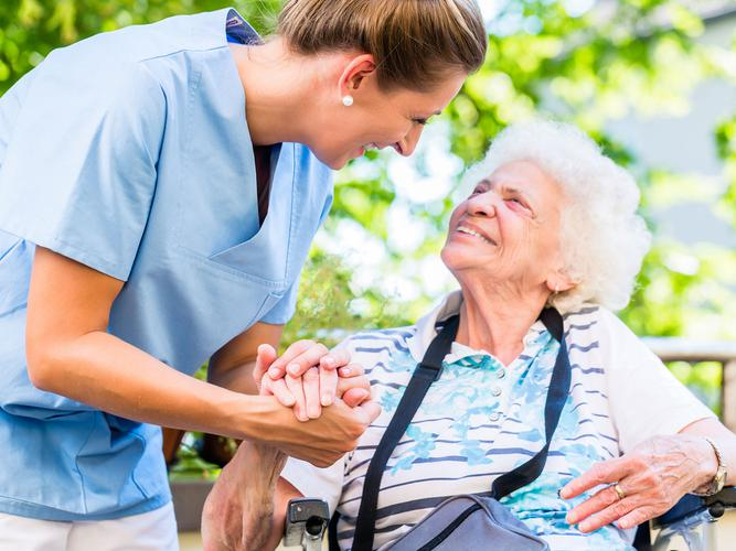 A pilot project around person centred approach to care in aged care homes has noticeably improved quality of life and satisfaction of care (Source: Shutterstock)