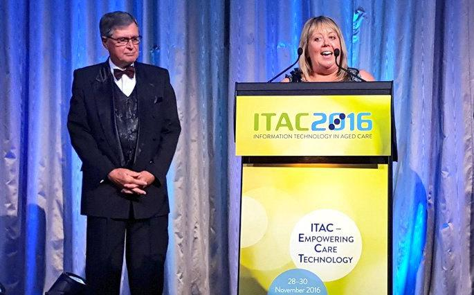 Feros Care CEO Jennene Buckley was inducted into the ITAC Hall of Fame