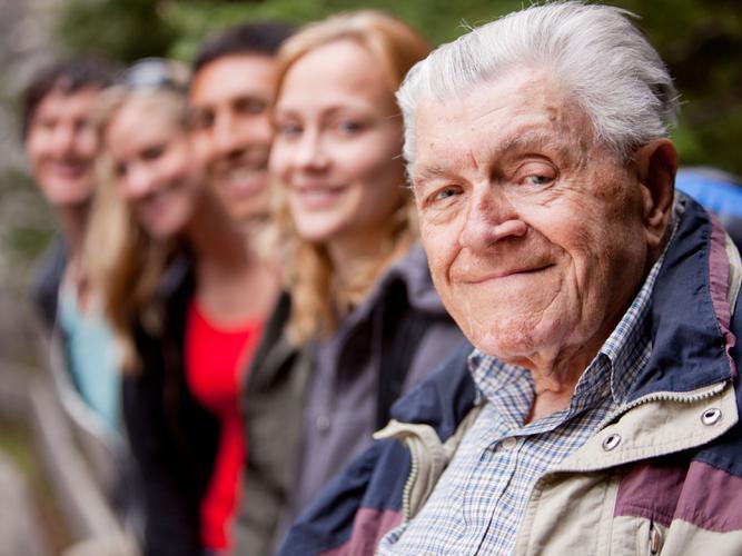 An ageing population is an indicator of progress (Source: Shutterstock)