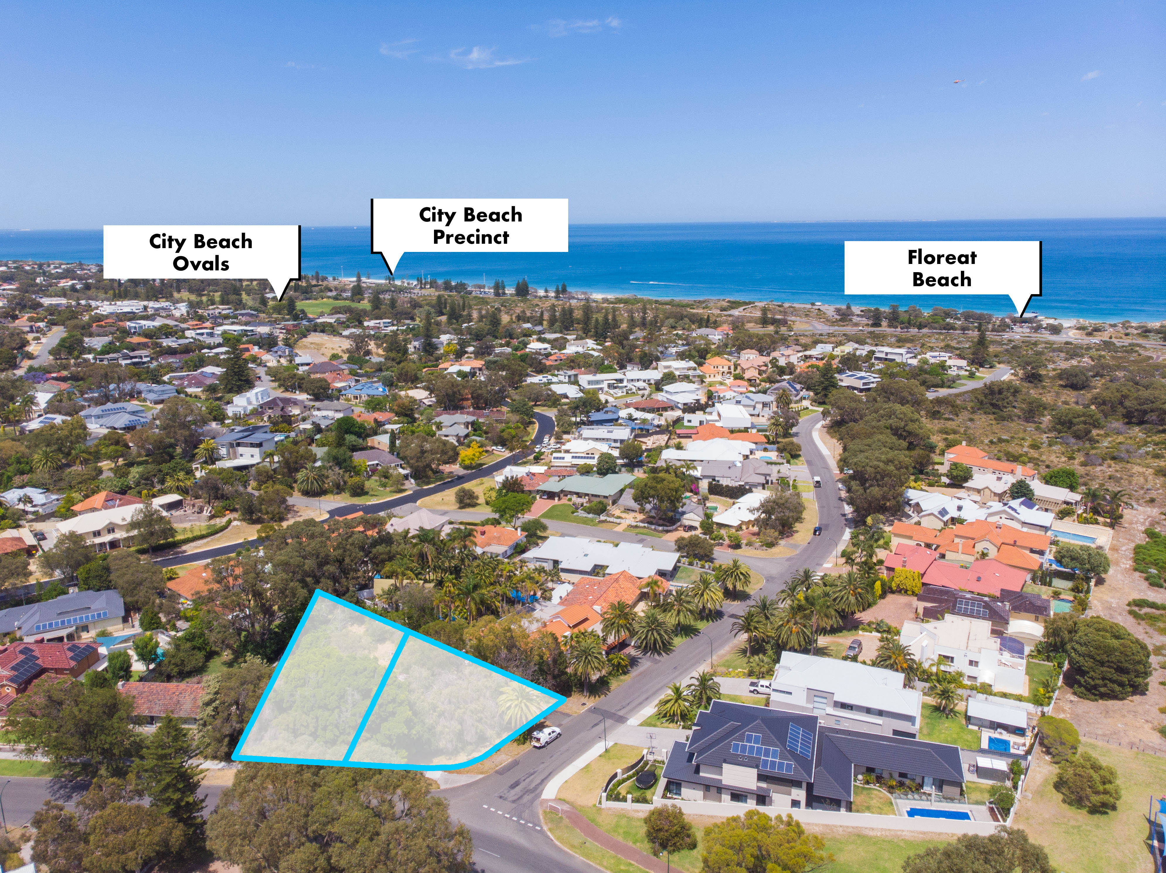 We engaged Rob Walker to sell a large block in City Beach.