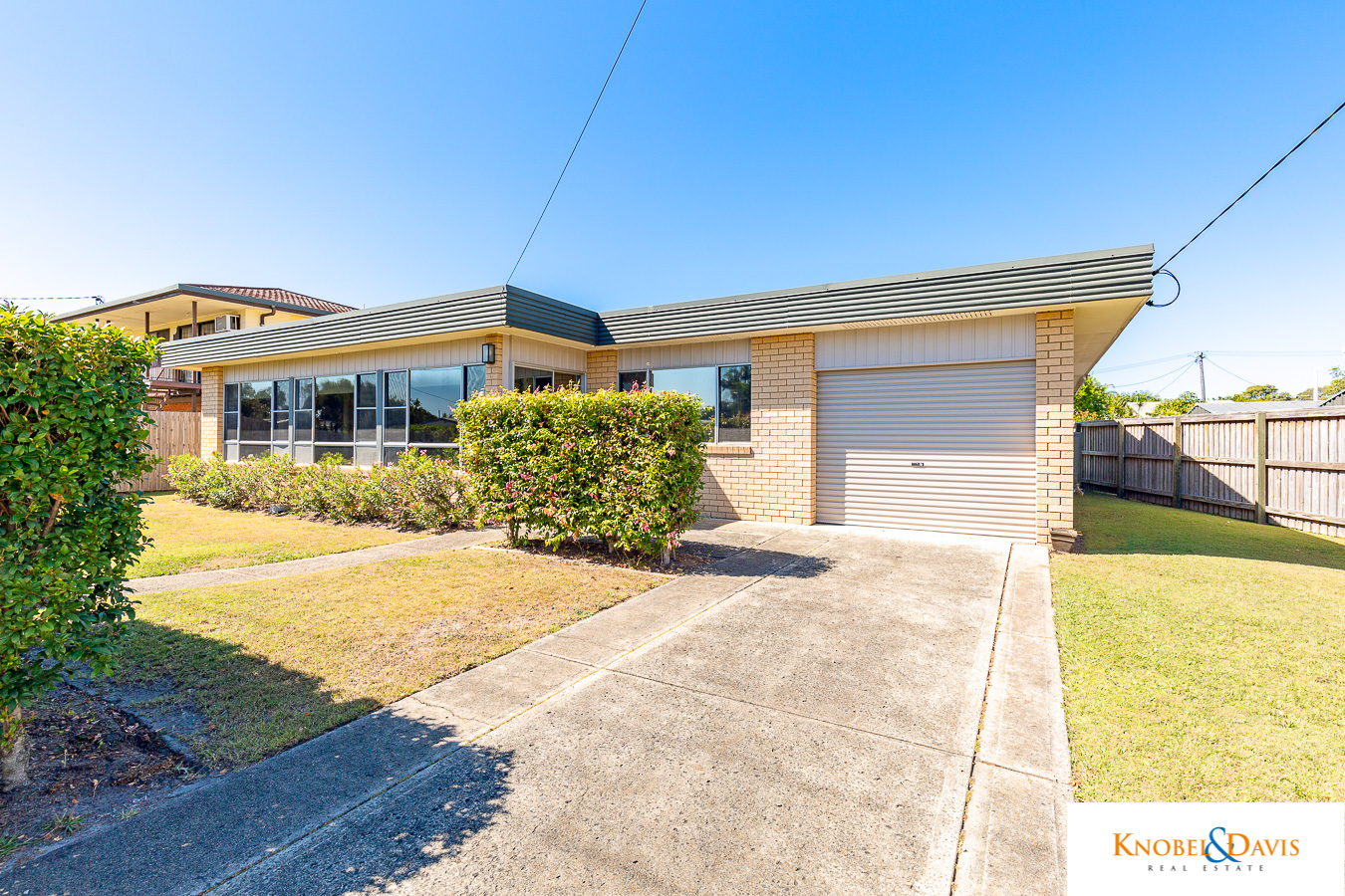 We were uncertain about value of sort of property that we wanted to buy as we're not from Bribie.