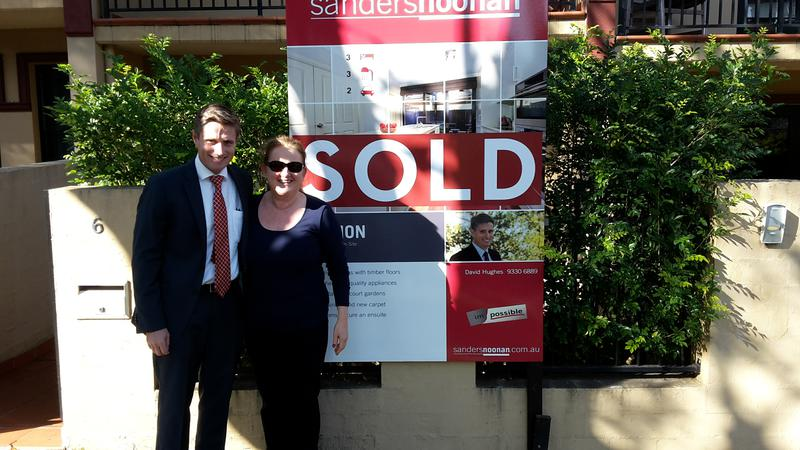 Selling with Dave Hughes and the team at Sanders Noonan meant I got more money for my property.