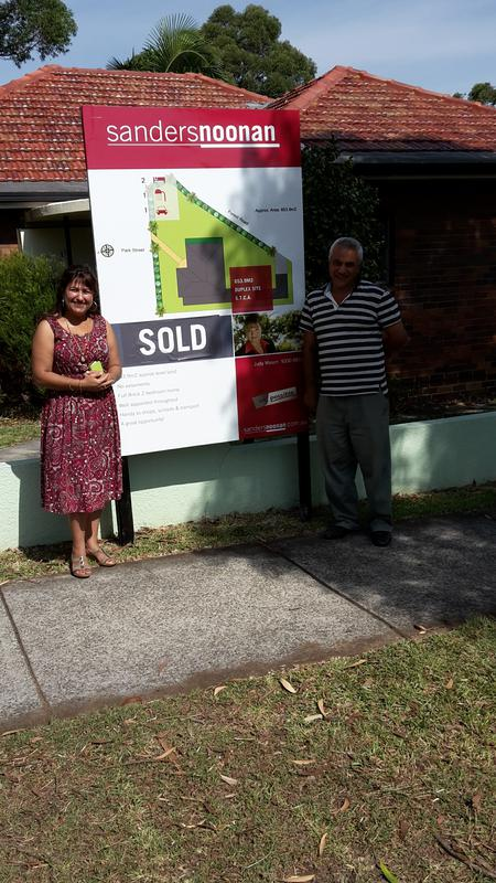 Happy & excited purchasers delighted with the outcome at auction.