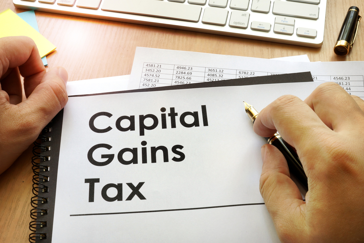 property management and capital gains tax