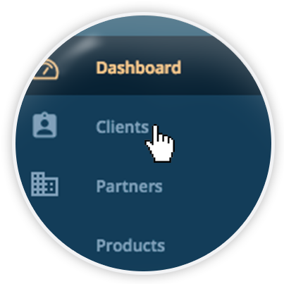 Agency management Software magnifier