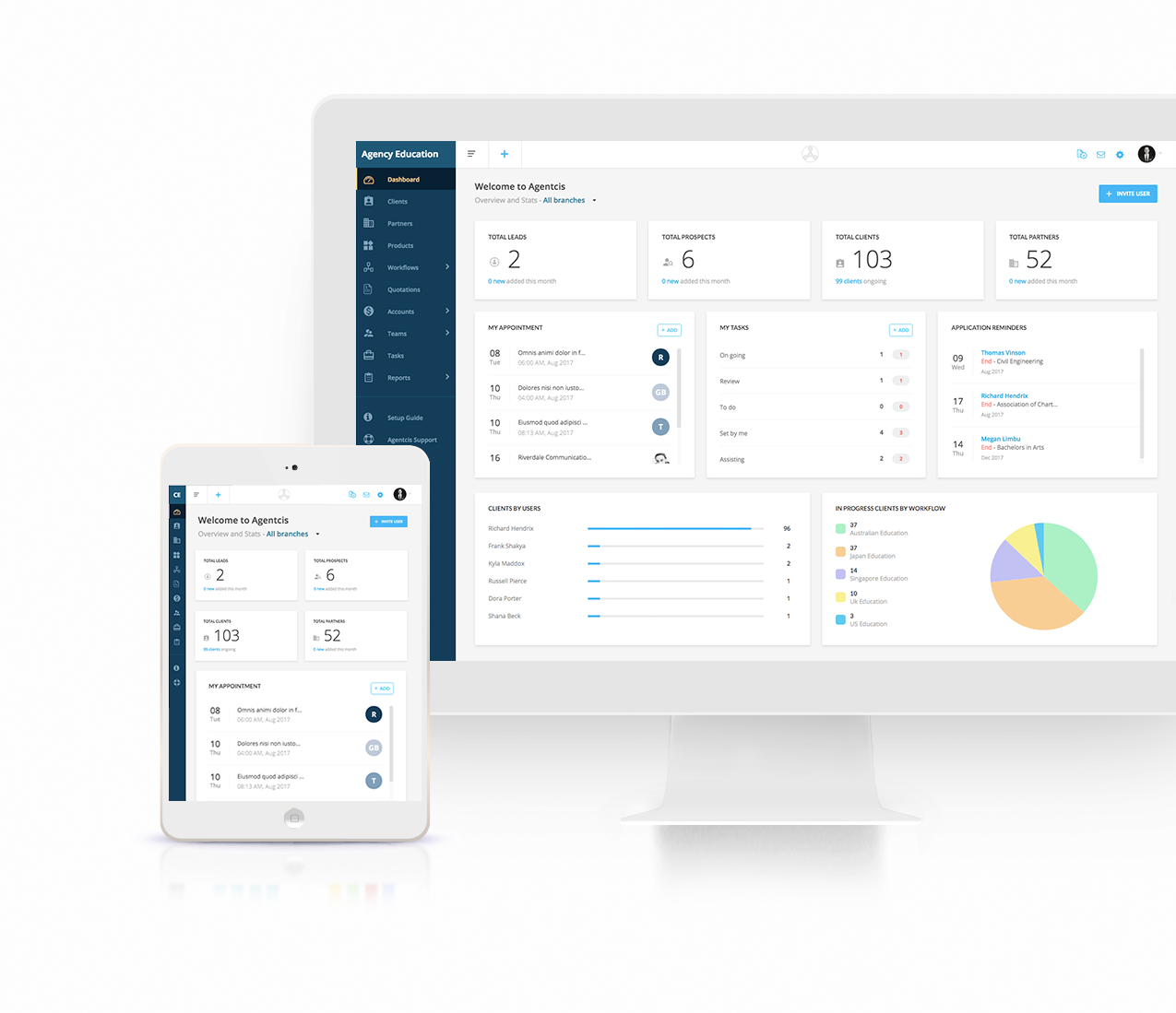 Agentcis Management Software