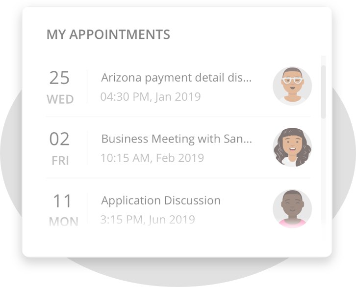 Appointments Flat Image