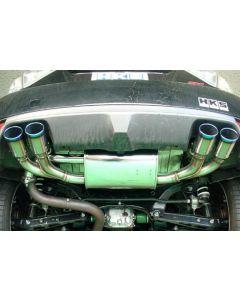 HKS Legamax Premium Exhaust System - Subaru Impreza WRX GRB