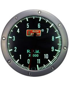 Autogauge 52mm Studded Face 11,000RPM Tachometer