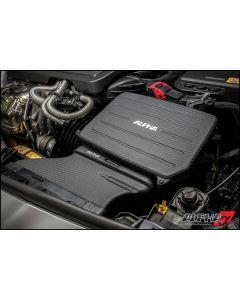 AMS CARBON FIBRE COLD AIR INLET DUCT & AIR BOX LID - MERCEDES-BENZ A45 AMG