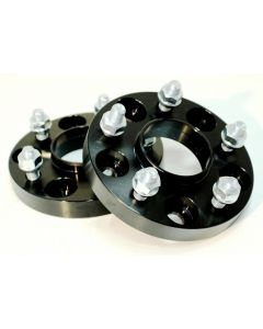 JJR 25mm Bolt-on Wheel Spacers - M12 x P1.5 (5 x 114.3) 60.1mm