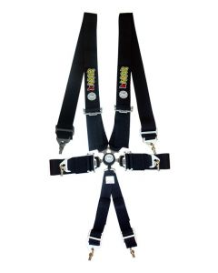 Autotecnica 6-point Racing Harness - Black