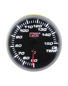 Autogauge 60mm Electrical LED Oil Temp Gauge
