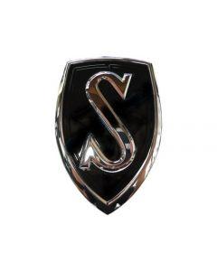 Genuine Nissan Bonnet Emblem JDM - Nissan S14 Silvia (Black)