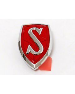 Genuine Nissan Bonnet Emblem JDM - S14 Silvia (Red)
