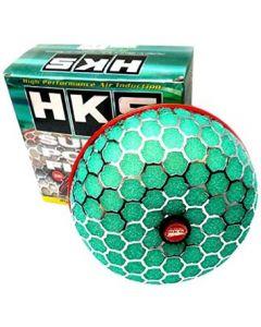 HKS Super Power Flow Intake Air Filter - Universal 150-70mm (Green)