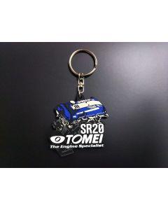 Tomei Silicone Rubber Key Chain - SR20DET