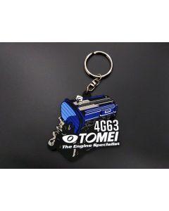 Tomei Silicone Rubber Key Chain - 4G63