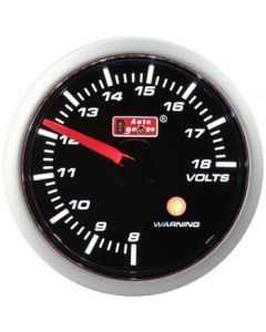 Autogauge 52mm Volt Gauge & Warning Light