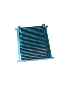 Cooling Pro 25 Row Light Weight Blue Oil Cooler -10 Fittings