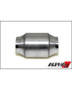 AMS ALPHA PERFORMANCE 90MM CATTED MIDPIPE - NISSAN R35 GT-R