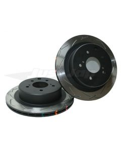DBA 4000 T Series Rear Brake Rotors - Nissan Z33/V35 (Brembo Type)