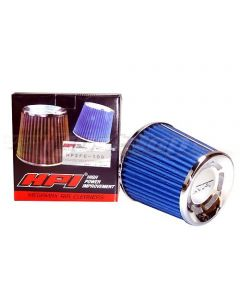 HPI Universal Air Filter Blue Cotton Type - 100mm Inlet